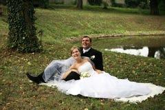 Hochzeitspaare Stockfotografie