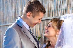 Hochzeitspaare Stockfoto