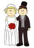 Hochzeitspaare. lizenzfreie stockfotos