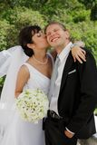 Hochzeitspaare Lizenzfreies Stockfoto