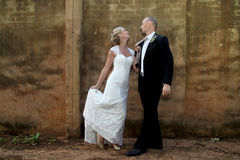 Hochzeitspaartanzen Lizenzfreie Stockfotos