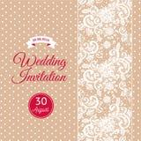 Hochzeitspanels mit Braut, Bräutigam und Hochzeitsringen, die für Einladungen oder Grußkarten benutzt werden können Lizenzfreies Stockbild