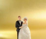 Hochzeitspuppe Stockfotos