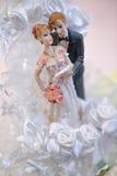 Hochzeitspuppe lizenzfreie stockfotos