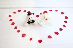Hochzeitspuppe Stockfotografie