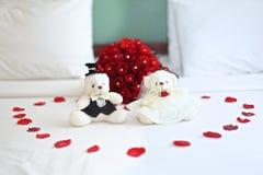 Hochzeitspuppe Lizenzfreie Stockfotografie