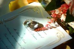 Hochzeitsring Stockfotos
