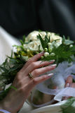 Hochzeitsring stockbild