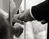 Hochzeitsring Lizenzfreie Stockfotos