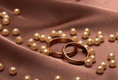 Hochzeitsringe lizenzfreie stockbilder