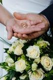 Hochzeitsringe Lizenzfreies Stockfoto