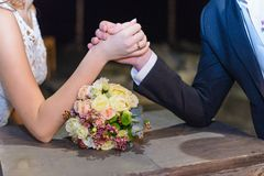 Hochzeitsringkampf Lizenzfreie Stockfotografie
