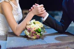 Hochzeitsringkampf Stockfotografie