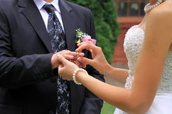 Hochzeitsritual Lizenzfreies Stockbild