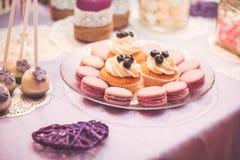 Hochzeitssüßigkeit Stockbilder