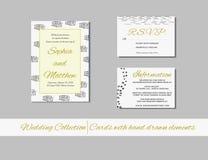 Hochzeitssammlung Lizenzfreie Stockbilder