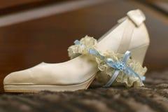 Hochzeitsschuh Stockfoto