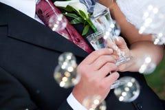 Hochzeitssonderkommandos Stockfotos