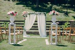 Hochzeitssonnentag Lizenzfreies Stockfoto