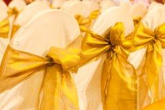 Hochzeitsstühle Lizenzfreie Stockfotos