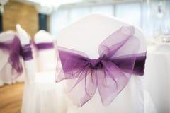 Hochzeitsstühle Lizenzfreies Stockfoto