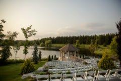Hochzeitsstandort stockfotos