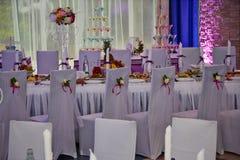 Hochzeitsstuhl Lizenzfreie Stockfotos