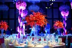 Hochzeitstabelle Lizenzfreie Stockfotografie
