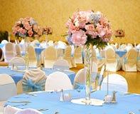 Hochzeitstabelleneinstellung Lizenzfreies Stockfoto