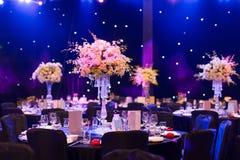 Hochzeitstafel Stockbild