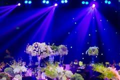 Hochzeitstafel Lizenzfreies Stockfoto