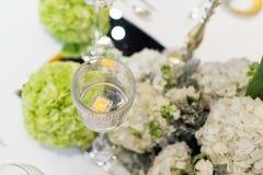 Hochzeitstafel Stockfoto