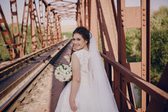 Hochzeitstag HD Lizenzfreies Stockbild