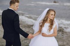 Hochzeitstag in Odessa Stockfotos