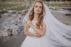 Hochzeitstag in Odessa Lizenzfreie Stockfotografie
