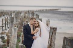 Hochzeitstag in Odessa Stockbild