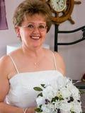 Hochzeitstag-Portrait Stockfoto