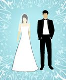 Hochzeitsteil 1 lizenzfreie abbildung