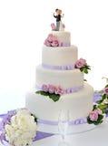 Hochzeitstorte stockbild