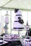 Hochzeitstorte Stockfotos