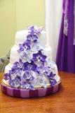 Hochzeitstorte Lizenzfreies Stockfoto