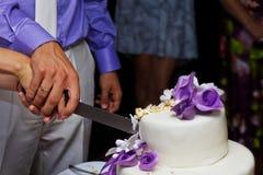 Hochzeitstorte Stockfoto