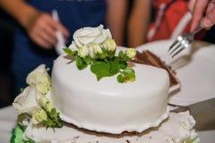 Hochzeitstorte 8 Lizenzfreies Stockbild