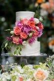 Hochzeitstorte 8 Stockbild