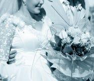 Hochzeitsumlagerungen Stockfoto