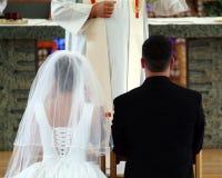 Hochzeitsversprechen Stockfoto