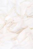 Hochzeitswäsche, Hintergrund. Lizenzfreie Stockbilder