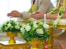 Hochzeitszeremonie Stockfotos