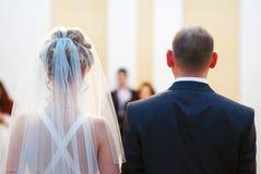 Hochzeitszeremonie lizenzfreie stockfotos
