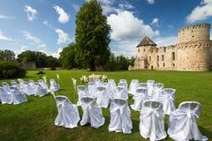 Hochzeitszeremonieplätze Lizenzfreies Stockbild